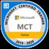 Microsoft gecertificeerde trainer Certificaat